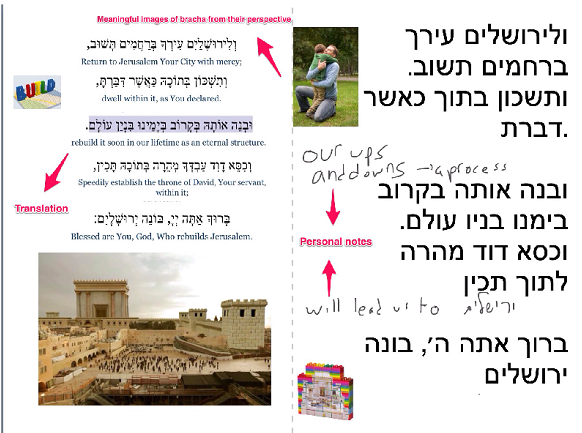 image: MDS Tefillah Re-Imagined project
